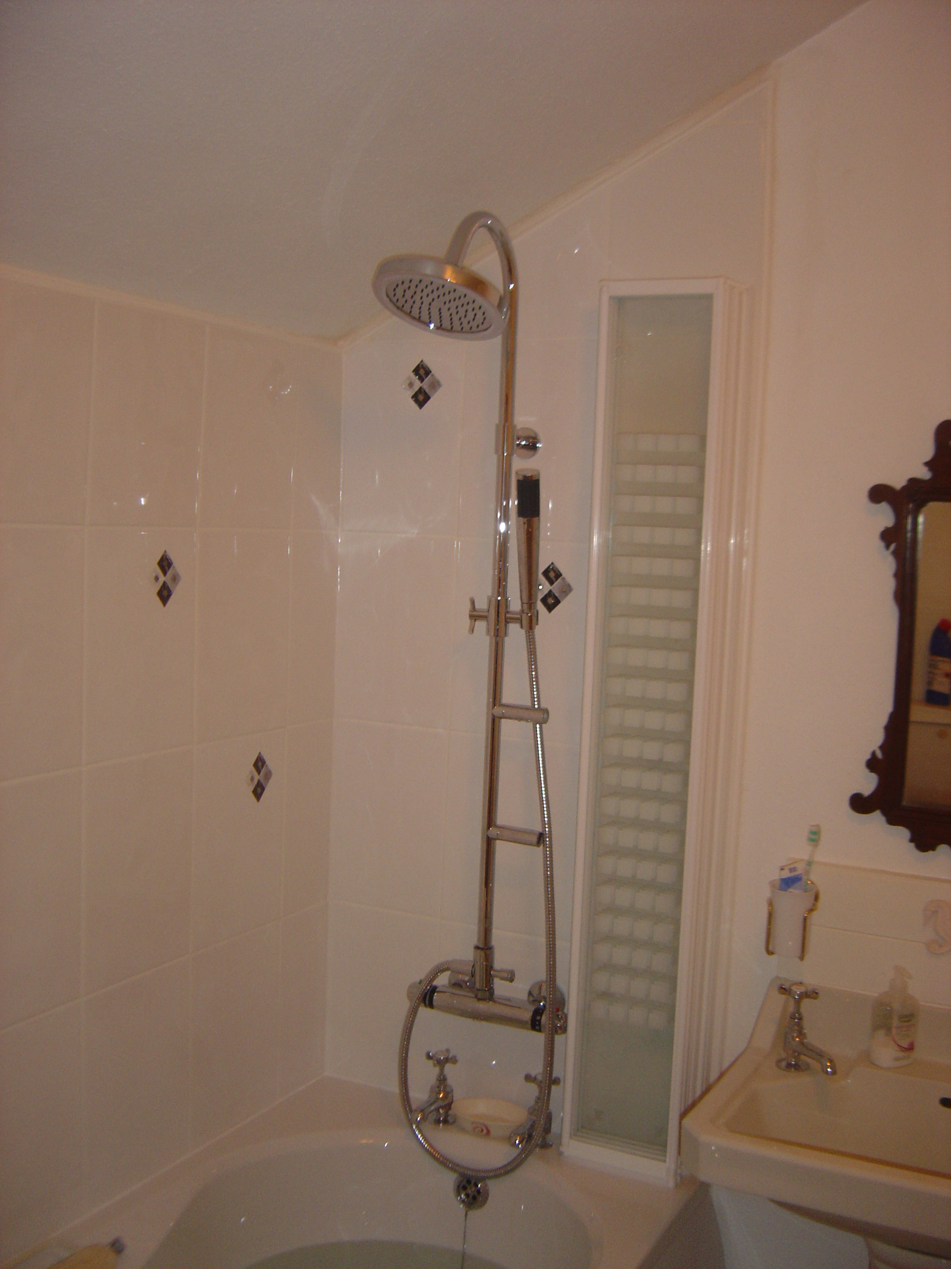 shower | PAB and Son Plumbing and Property Services